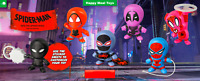 2018 McDonald's SPIDER-MAN Into the Spider-Verse Happy Meal Toys Pick Your Toy!