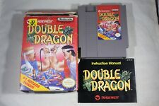 Double Dragon 1 (Nintendo NES) Complete in Box FAIR Oval