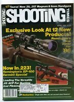 SHOOTING TIMES Magazine April 1986 Exclusive Look at 12 New Products!