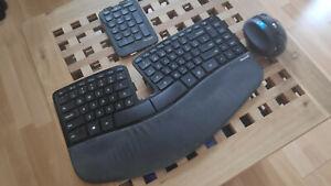 Microsoft Sculpt Ergonomic - Ergonomische Tastatur und Maus Wireless - US