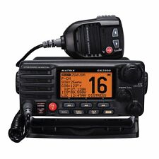 Standard Horizon Gx2000-B Vhf, Matrix, W/hailer, Opt Remote, Black (gx2000b)
