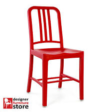 Replica Emeco US Navy Chair (Plastic Version) – Red