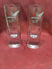 Smirnoff Twist Vodka Tall Glass Heavy Base