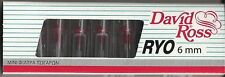 David Ross Micro Mini Cigarette Filters 6 mm  5 pack of 10=50