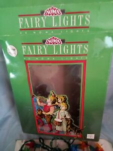 Vintage Noma 40 Christmas Tree Fairy lights -Boxed -NOW WITH FITTED PLUG !!!!