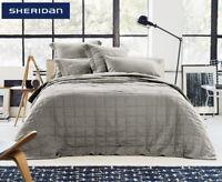 Sheridan Abbotson Belgian Linen Bed Cover Twine