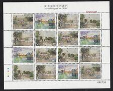 China Macau 2016 陳志威 Mini S/S Stamp Macao Seen by Chan Chi Vai Painting