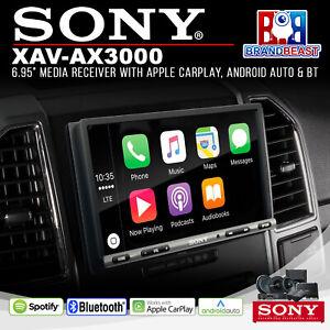 """Sony XAV-AX3000 6.95"""" Apple CarPlay/Android Auto Receiver"""
