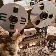"""Vintage Tascam 42B-NB Reel to Tape Mastering Deck 1/4"""" Half Track 2.7mm RESTORED"""