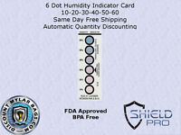 Ultimate Humidity Indicator Card Listing - 6-Dot Reversible Silica Gel Desiccant