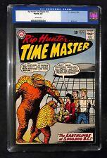 RIP HUNTER TIME MASTER # 15 CGC 5.0 -Earthlings of 5,000,000 B.C. DC Comics