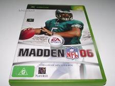 Madden NFL 06 Xbox Original PAL *Complete*
