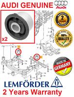 # 2x LEMFORDER AUDI A6 C6 4F ALLROAD FRONT SUBFRAME REAR BUSH BUSHING KIT SET