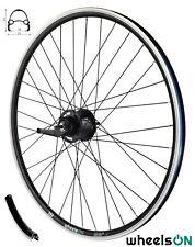 700c  wheelsON Rear Wheel Shimano Nexus 7 Coaster Brake With Accessories Black