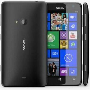 Nokia Lumia 625 Unlocked  8GB - Black-Excellent Condition