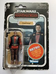 Star Wars Retro Collection. The Mandalorian. GREEF KARGA. New
