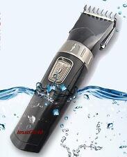 Tondeuse cheveux et barbe rechargeable professionnelle Sans Fil  Noir