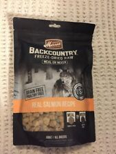 Merrick Backcountry Freeze-Dried Raw Real Salmon Recipe Meal or Mixer Grain Free