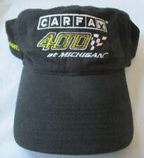 CARFAX 400 AT MICHIGAN NIKE GOLF BLACK ADJUSTABLE CAP / HAT - NWT