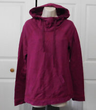 SONOMA Women's Burgundy Cowlneck Cotton Pullover Hoodie Top Size S