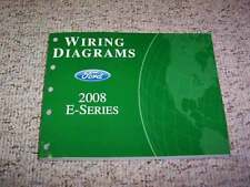 2008 Ford E-Series E150 Electrical Wiring Diagram Manual Commercial Recreational