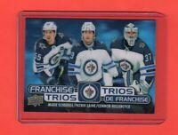 2020-21 Tim Horton's Winnipeg Trios Mint Pack Fresh B