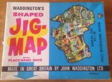 WADDINGTONS Jig-Map Jigsaw Puzzle AUSTRALIA Vintage Retro