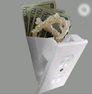 Electrical outlet safe Hidden Secret Storage Container Cash Stash Diversion