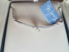 Diamond Bracelet 14K White Gold brand new with tags, never worn