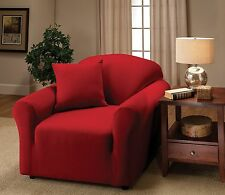 Jersey Fitted Slipcovers For Chair Sofa Couch Loveseat & Recliner Sizes-Buy Now