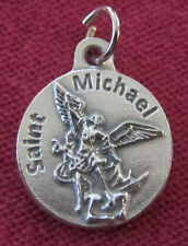 "Catholic Religious Holy Medal - Saint Michael - POLICE OFFICER "" Serve Protect """