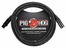 15 Ft Pig-Hog Microphone Mic  XLR 8mm Tour Grade Quality Cable.