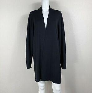 EILEEN FISHER Woman Wool Black Cardigan Sweater Knit 2X Plus EUC!! - NTSF