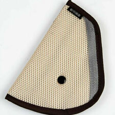 Comfortable Seat Belt Adjuster Car Child Safety Cover Harness CREAM Tri-Pad