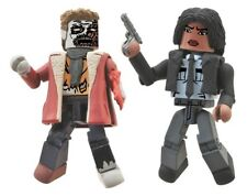 The Walking Dead Minimates Series 6 Deputy Michonne and Winter Zombie