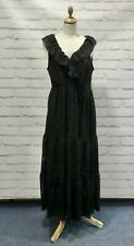 River Island ladies black midaxi dress size uk18 BNWT RRP £42