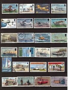 Guernsey used stamps selection