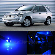 Blue 13pcs Interior LED Light Kit for Mercedes Benz M Class W163 M 2000-2005