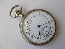 Very Rare 24 hour pocket watch just full serviced perfect working conditions
