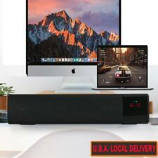 LED Surround Sound Bar System Subwoofer Wireless Bluetooth Soundbar Home Theatre
