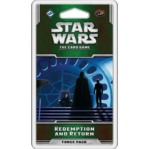 Star Wars The Card Game REDEMPTION and RETURN Force Pack / Expansion FFG LCG