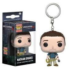Uncharted Nathan Drake Funko Pop! Keychain Figure From A Thief's End 10299