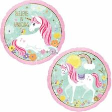 Circle Foil Balloon Magical Unicorn 18 Inch Anagram Official Party Product