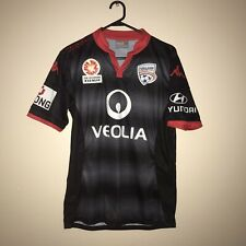 Mens Hyandai A League Kappa Sponsored Adelaide United  Veolia Small Shirt Jersey