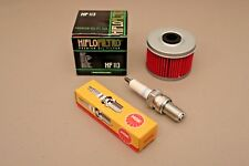 Honda TRX300EX Tune Up Kit NGK DR8ES-L Spark Plug & HIFLO Oil Filter TRX 300EX