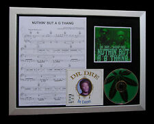 DR. DRE Nuthin But G Thang LTD MUSIC CD QUALITY FRAMED DISPLAY+FAST GLOBAL SHIP