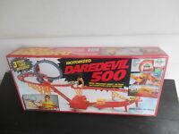 RARE Vintage 1970s Motorized Daredevil 500 Stunt Slot Car Set NOS SEALED Vision