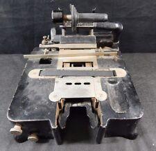 Antique AddressoGraph Model H3 VINTAGE EMBOSSER TAG MAKER USA IL PAT 1904 1912