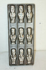 ANTIQUE CHOCOLATE MOLD SANTA CHRISTMAS CANDY 6 X 14 1/2