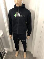 Hugo Boss Blue Tracksuit Zipped Hoodie & Pant Mens  XXL RRP £288 Bargain £109